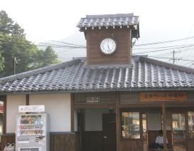 618-4 高山バス停の時計.JPG