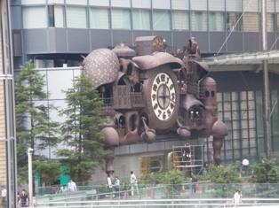 638-1-4 ゆりかもめより汐留駅側の時計.JPG